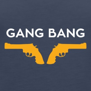 gang bang - Women's Premium Tank Top