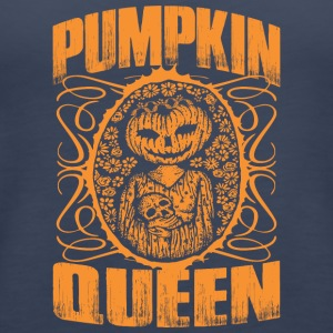 Pumpkin Queen Halloween - Women's Premium Tank Top