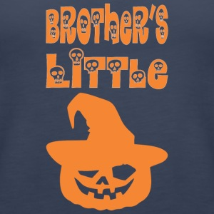 Brothers Little Pumpkin Happy Halloween - Women's Premium Tank Top