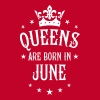 18 Queens are born in June Crown Woman  - Women's Premium Tank Top