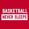Basketball Never Sleeps - Women's Premium Tank Top
