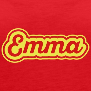 Name Emma - Women's Premium Tank Top