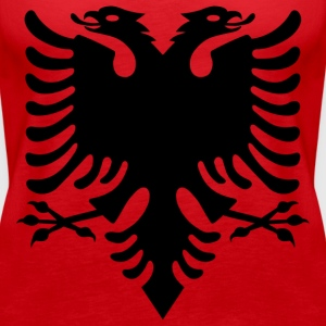 Albanian Eagle design - Women's Premium Tank Top