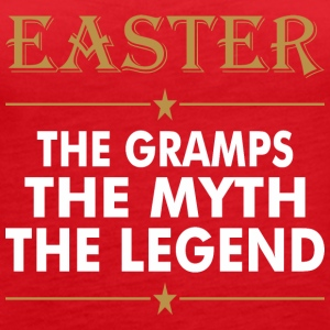Easter The Grampsthe Myth The Legend - Women's Premium Tank Top