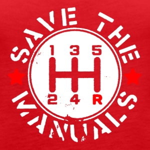 SAVE THE MANUALS - Women's Premium Tank Top