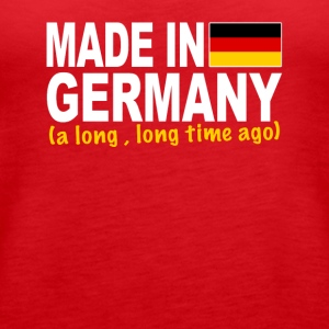 Made in Germany a long long time ago - Women's Premium Tank Top