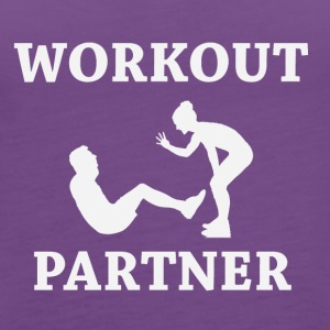 Workout Partner - Women's Premium Tank Top