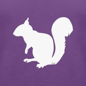 Squirrel - Alternate Color - Women's Premium Tank Top