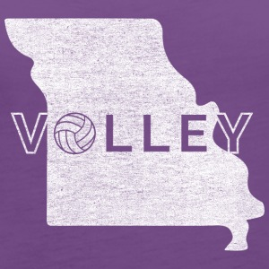 Volleyball Players of Missouri - Women's Premium Tank Top