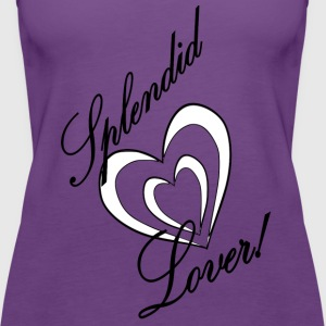 splendid lover 1 - Women's Premium Tank Top