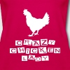 CRAZY CHICKEN LADY - Women's Premium Tank Top