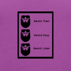 Beard Later - Women's Premium Tank Top