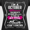 OCTOBER WOMAN - Women's Roll Cuff T-Shirt