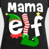 Mama Elf Christmas - Women's Roll Cuff T-Shirt