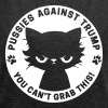 Pussies against Trump - You can't grab this! - Women's Roll Cuff T-Shirt