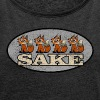 4 fox sake - Women's Roll Cuff T-Shirt