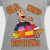 Old Nerd Reviews Women's Shirt - Women's Roll Cuff T-Shirt
