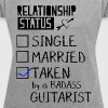 Badass Guitarist - Women's Roll Cuff T-Shirt
