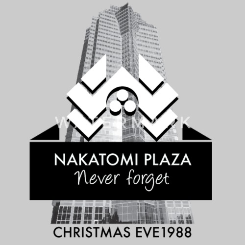 never forget nakatomi plaza christmas eve 1988 by redcowtees spreadshirt