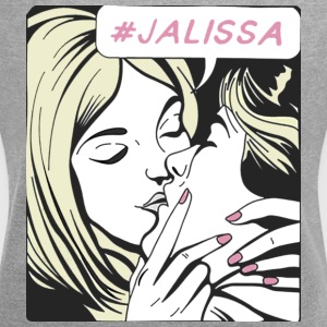 Jake Paul Alissa Violet #JALISSA - Women's Roll Cuff T-Shirt