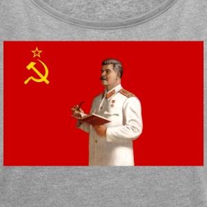 Stalin - Women's Roll Cuff T-Shirt