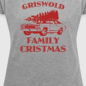 Christmas Vacation Griswold - Women's Roll Cuff T-Shirt
