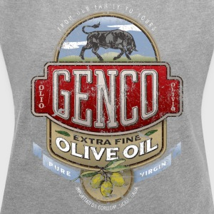 Genco Extra Fine Olive Oil - Women's Roll Cuff T-Shirt