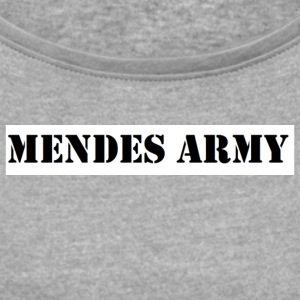 Mendes army - Women's Roll Cuff T-Shirt