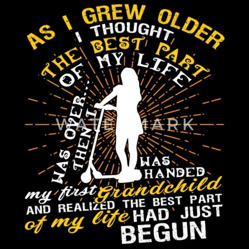 as i grew older