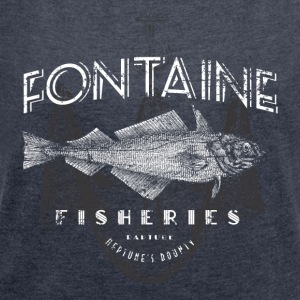 Fontaine Fisheries - Women's Roll Cuff T-Shirt