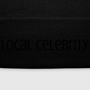 Local Celebrity - Knit Cap with Cuff Print