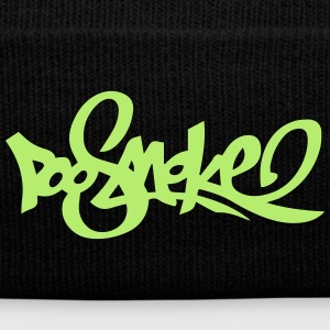 PooSmoke P2 - Knit Cap with Cuff Print