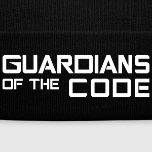 Guardians of the code - Knit Cap with Cuff Print