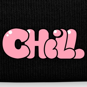 Chill - Vibe Out - Knit Cap with Cuff Print