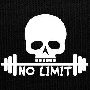 No Limit / Body / skull - Knit Cap with Cuff Print