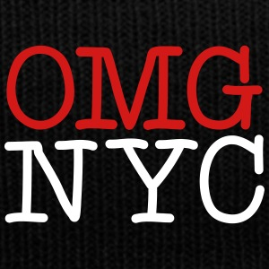 OMG NYC Graphic - Knit Cap with Cuff Print