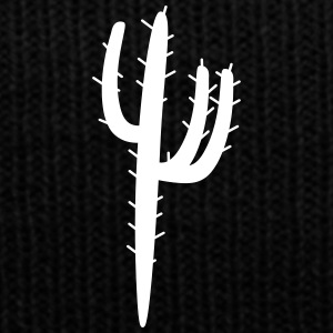 Cactus texas T-shirt - Knit Cap with Cuff Print
