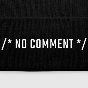 /* NO COMMENT */ - uppercase - Knit Cap with Cuff Print