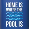Swimmer Home is where the pool is Swimming T Shirt - Full Color Mug