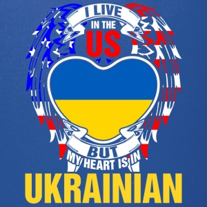 I Live In The Us But My Heart Is In Ukrainian - Full Color Mug