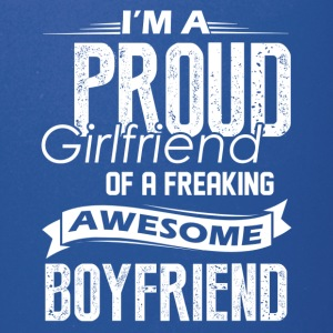 Proud Girlfriend Of A Awesome Boyfriend Shirt - Full Color Mug