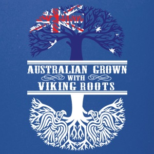 Australian grown with viking roots - Full Color Mug