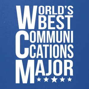 World's Best Communications Major - Full Color Mug
