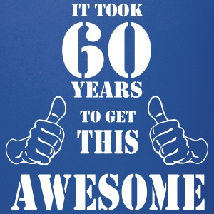 60th Birthday Get Awesome T Shirt Made in 1957 - Full Color Mug