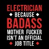 Badass Electrician Professions T-shirt - Full Color Mug