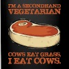 I'm A Secondhand Vegetarian - Full Color Mug
