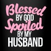 Blessed by GOD spoiled by my husband - Full Color Mug