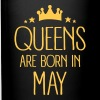 Queens Are Born In May - Full Color Mug