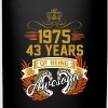 1975 43 Years Of Being Awesome - Full Color Mug