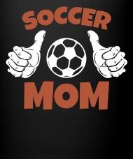 Soccer mom thumbs